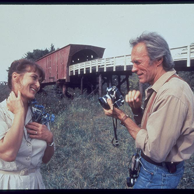 Clint Eastwood and Meryl Streep in The Bridges of Madison County (1995)