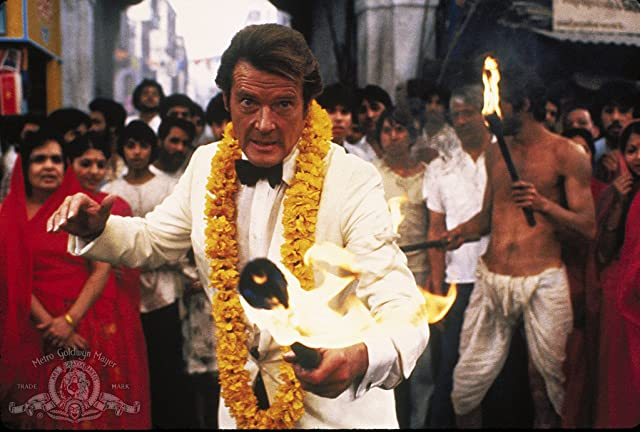 Roger Moore in Octopussy (1983)