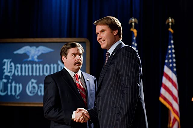 Will Ferrell and Zach Galifianakis in The Campaign (2012)