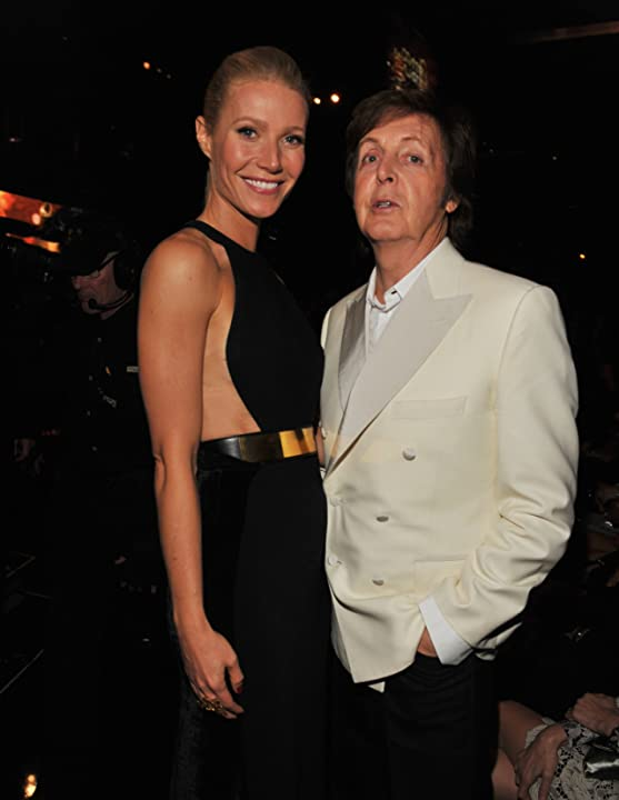 Gwyneth Paltrow and Paul McCartney