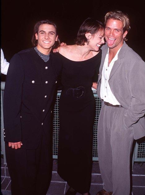 Alexandra Paul, David Chokachi, and Jeremy Jackson at Baywatch (1989)