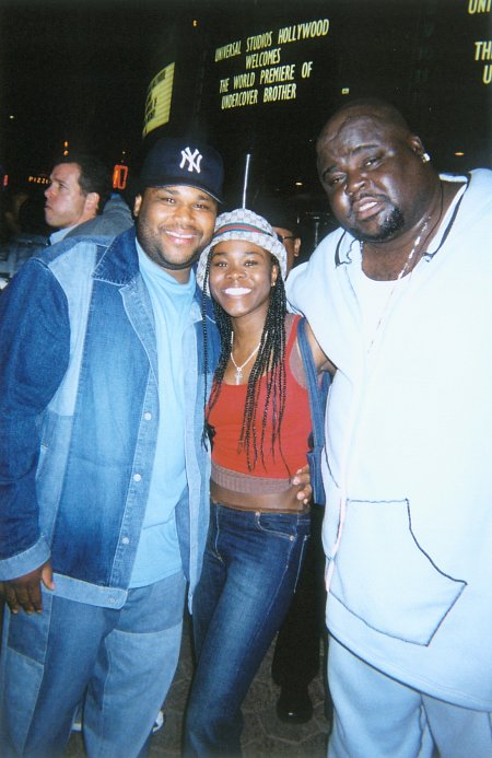 Anthony Anderson (I), Toy Connor, and Michael 'Bear' Taliferro at the