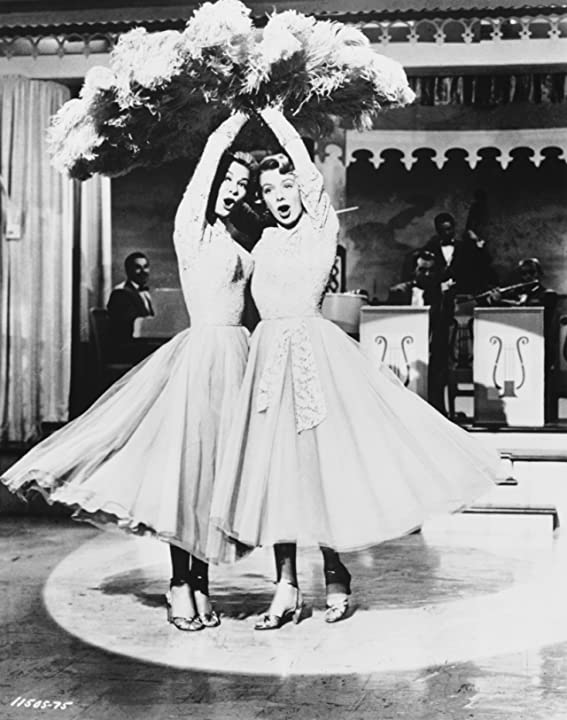 Rosemary Clooney and Vera-Ellen in White Christmas (1954)