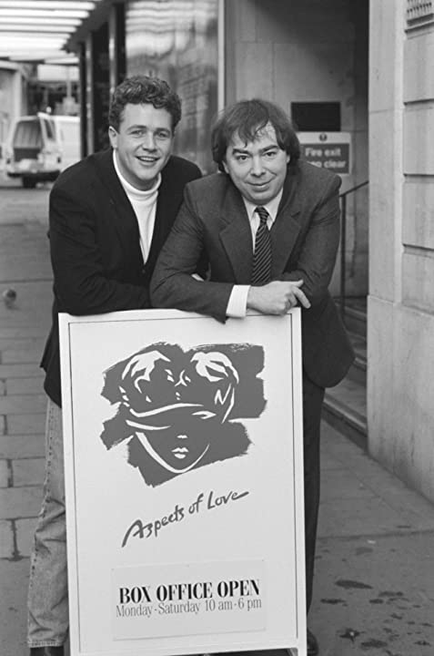 Michael Ball and Andrew Lloyd Webber