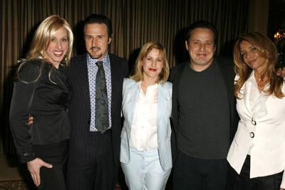 Patricia Arquette, David Arquette, Rosanna Arquette, Alexis Arquette, and Richmond Arquette
