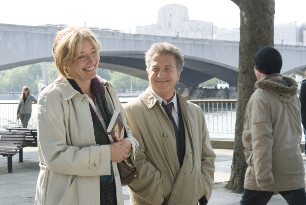 Dustin Hoffman and Emma Thompson in Last Chance Harvey (2008)