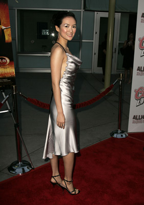 at an event for Ying xiong (2002)