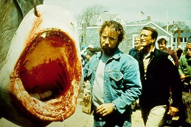 Richard Dreyfuss and Roy Scheider in Jaws (1975)
