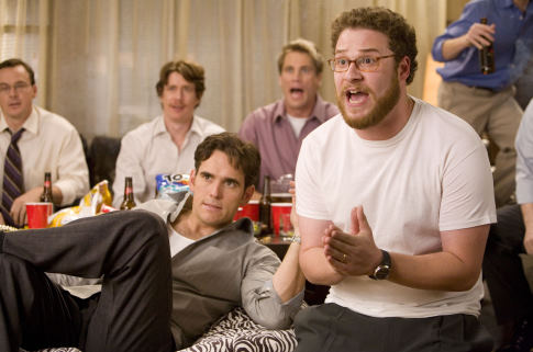 Matt Dillon, Kevin Breznahan, and Seth Rogen in You, Me and Dupree (2006)