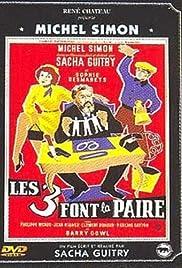 Les 3 font la paire Poster