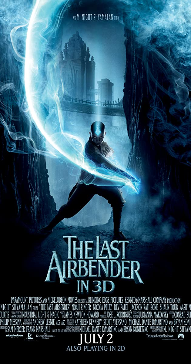 Image result for THE LAST AIRBENDER POSTER MOVIE
