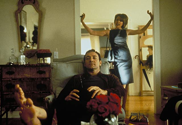 Kevin Spacey and Annette Bening in American Beauty (1999)