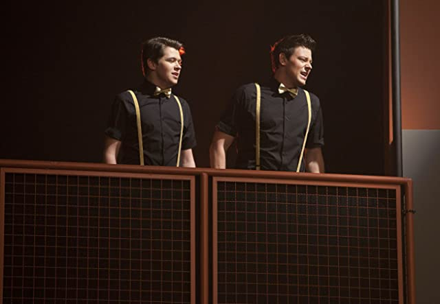 Cory Monteith and Damian McGinty in Glee (2009)