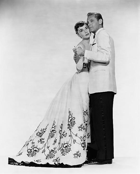 Audrey Hepburn and William Holden in Sabrina (1954)