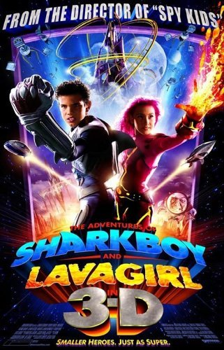 Taylor Lautner in The Adventures of Sharkboy and Lavagirl 3-D (2005)