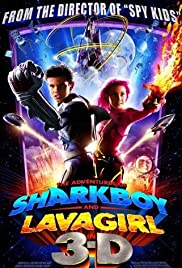 The Adventures of Sharkboy and Lavagirl 3-D Poster