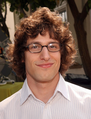 Andy Samberg at an event for Space Chimps (2008)