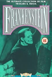 Frankenstein: A Cinematic Scrapbook Poster