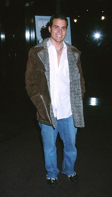 Nathan West at an event for Before Night Falls (2000)