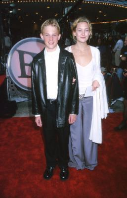 Kate Hudson and Wyatt Russell at an event for Me, Myself & Irene (2000)