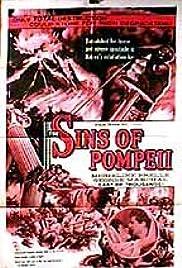 Sins of Pompeii Poster