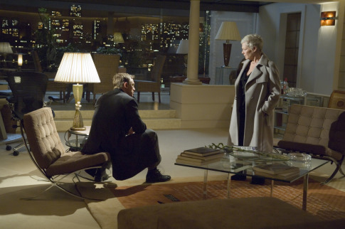 Judi Dench and Daniel Craig in Casino Royale (2006)