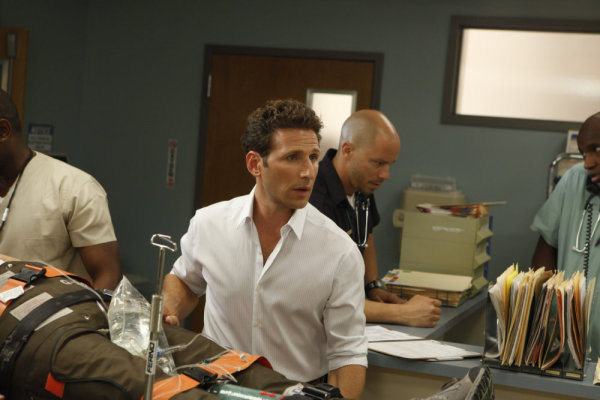 Mark Feuerstein and Hank Lawson in Royal Pains (2009)