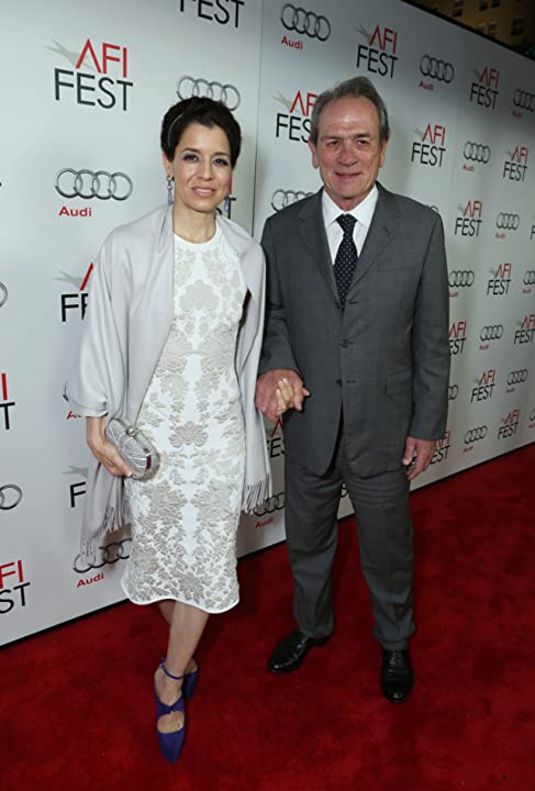 Tommy Lee Jones and Dawn Jones at Lincoln (2012)