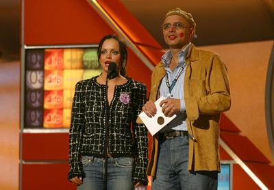 Christina Ricci and Joe Pantoliano