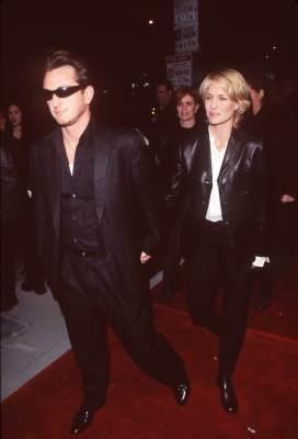 Sean Penn and Robin Wright at Hurlyburly (1998)