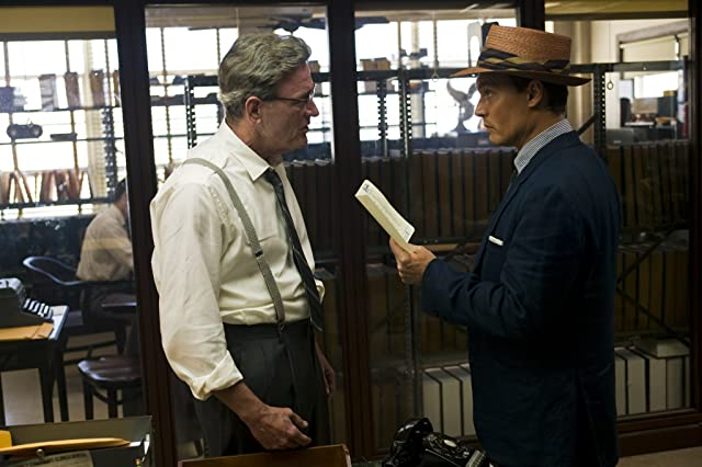 Johnny Depp and Richard Jenkins in The Rum Diary (2011)