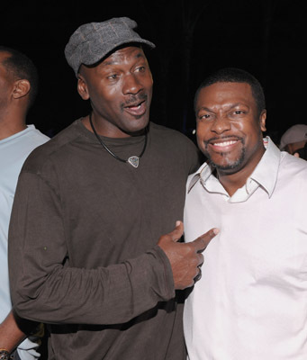 Chris Tucker and Michael Jordan