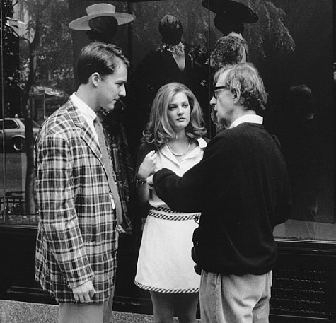 Woody Allen, Drew Barrymore, and Edward Norton in Everyone Says I Love You (1996)