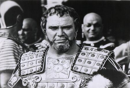 John Doucette as Achillas in