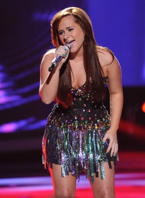 Skylar Laine in American Idol (2002)