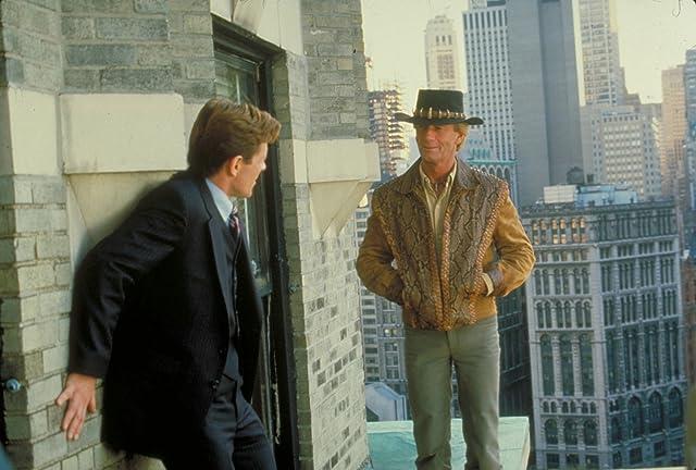 Paul Hogan and Vincent Jerman-Jerosa in Crocodile Dundee II (1988)