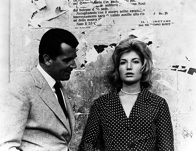 Gabriele Ferzetti and Monica Vitti in L'Avventura (1960)