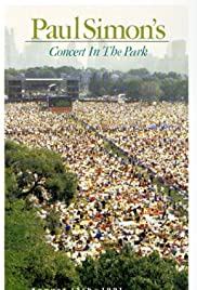 Paul Simon's Concert in the Park Poster