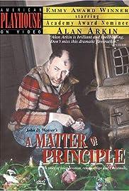 A Matter of Principle Poster