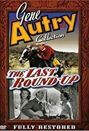 The Last Round-up Poster