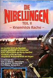 Die Nibelungen, Teil 2 - Kriemhilds Rache Poster