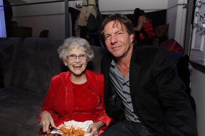 Dennis Quaid and Jeanette Miller at Legion (2010)