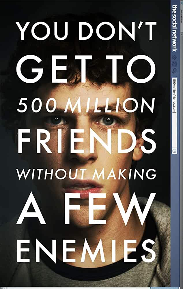 The Social Network 2010 720p BrRip Dual Audio Hindi English Watch online Free download at movies365.me