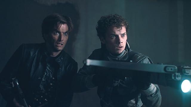 David Tennant and Anton Yelchin in Fright Night (2011)