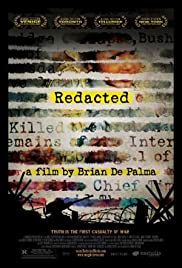 Redacted (2007) Poster - Movie Forum, Cast, Reviews