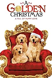 A Golden Christmas Poster