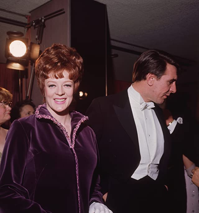 Maggie Smith and Robert Stephens