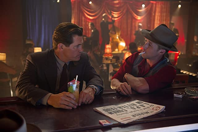 Josh Brolin and Ryan Gosling in Gangster Squad (2013)