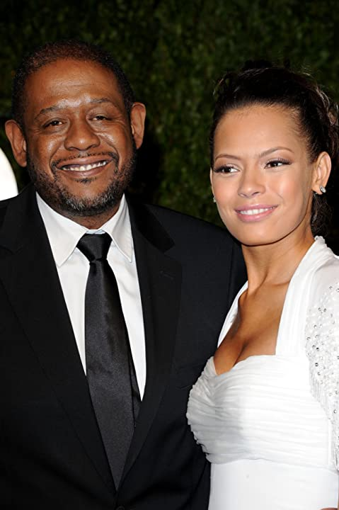 Forest Whitaker and Keisha Whitaker
