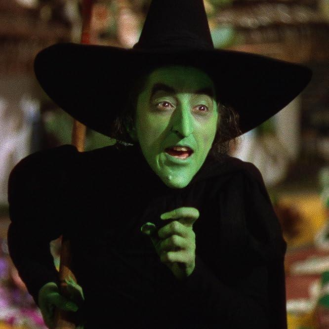 Margaret Hamilton en El mago de Oz (1939)
